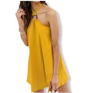 Asos Mini Halter Swing Dress or Tunic Top